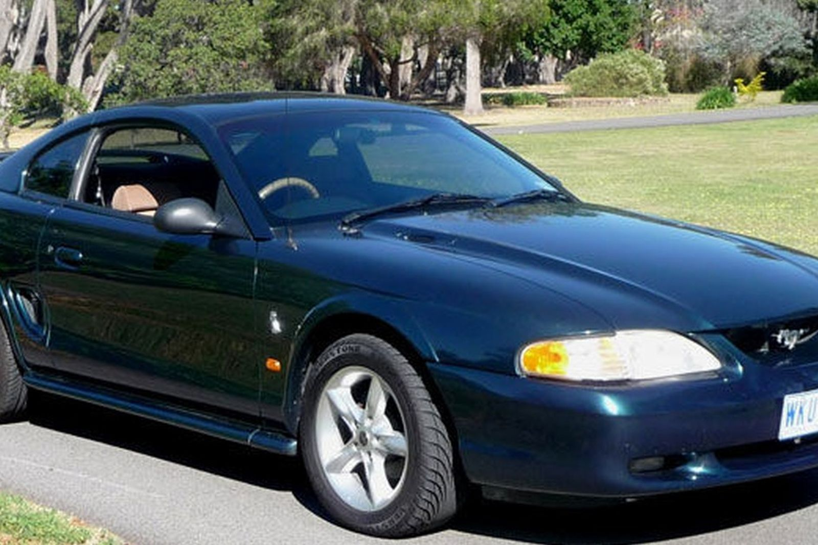 sold ford mustang v6 coupe rhd auctions lot 14 shannons. Black Bedroom Furniture Sets. Home Design Ideas