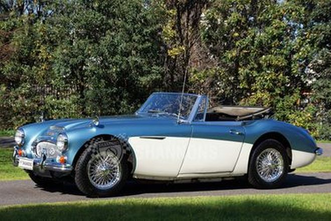 Austin-Healey 3000 BJ8 Mk3 Convertible