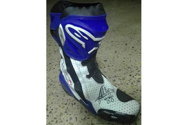 Jorge Martin #88 Signed Boot RF