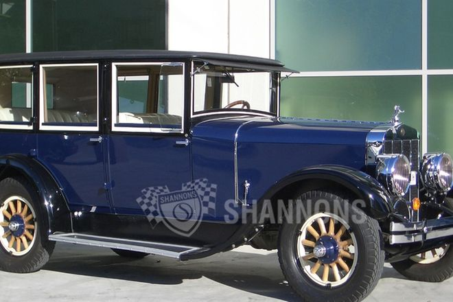 Franklin Series 11B 'Air Cooled' Sedan