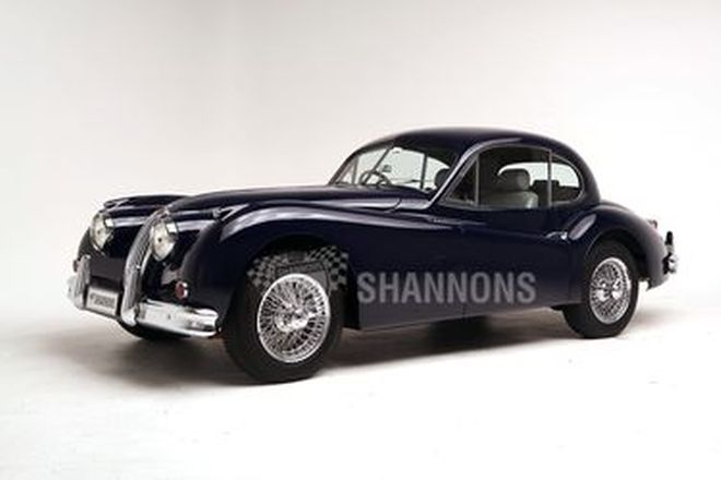 Jaguar XK140 Fixed-Head Coupe