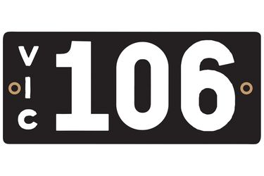 Victorian Heritage Plate '106'