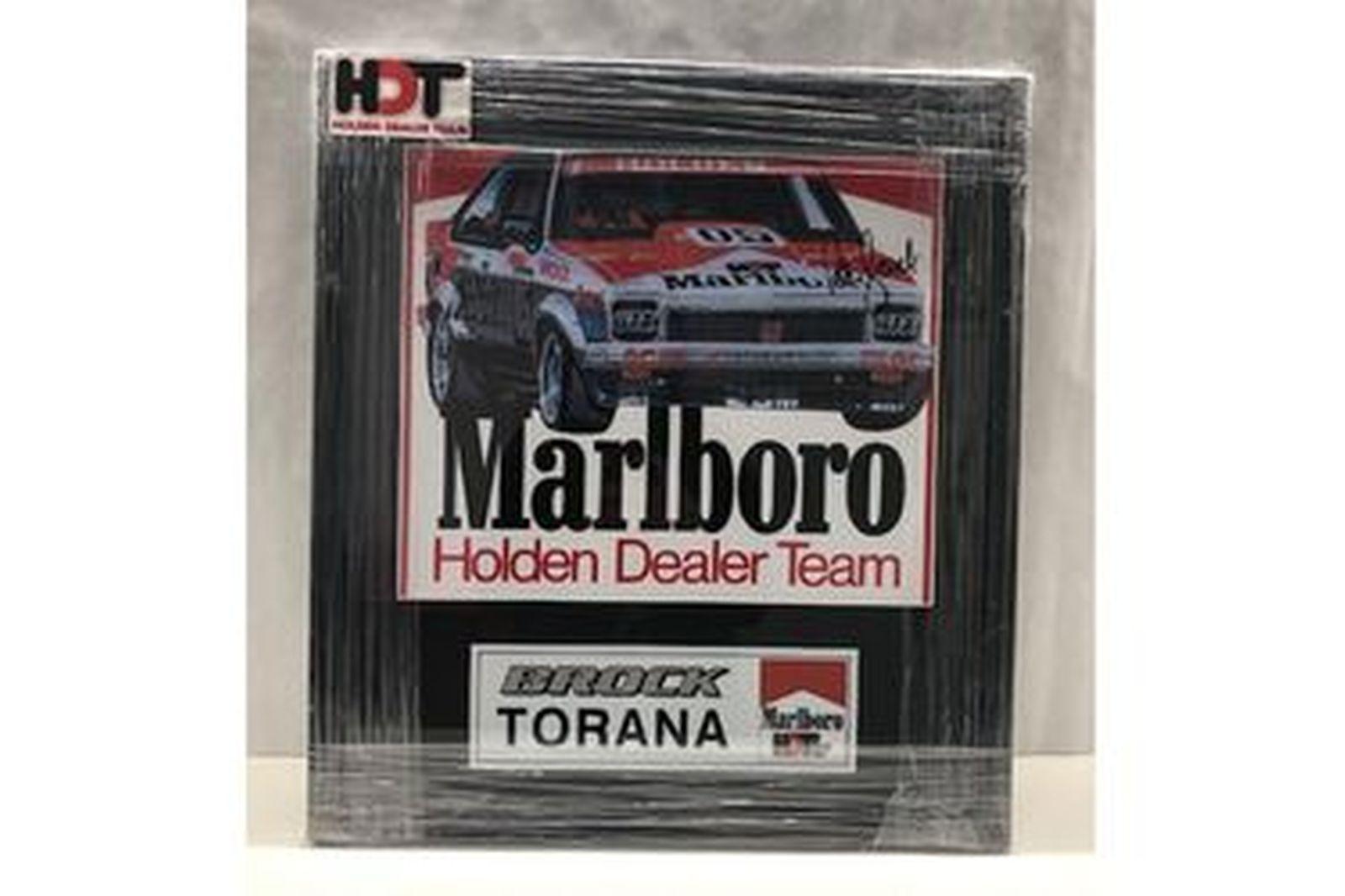Framed Print - 1979 Holden Torana Print signed by Peter Brock