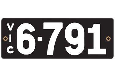 Victorian Heritage Plate 6.791