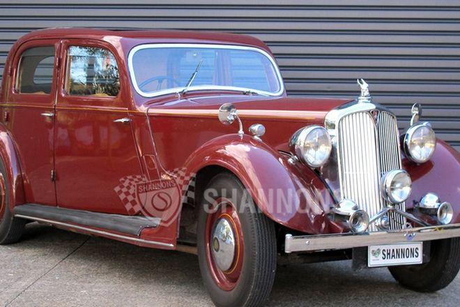 Rover 12HP P2 Saloon