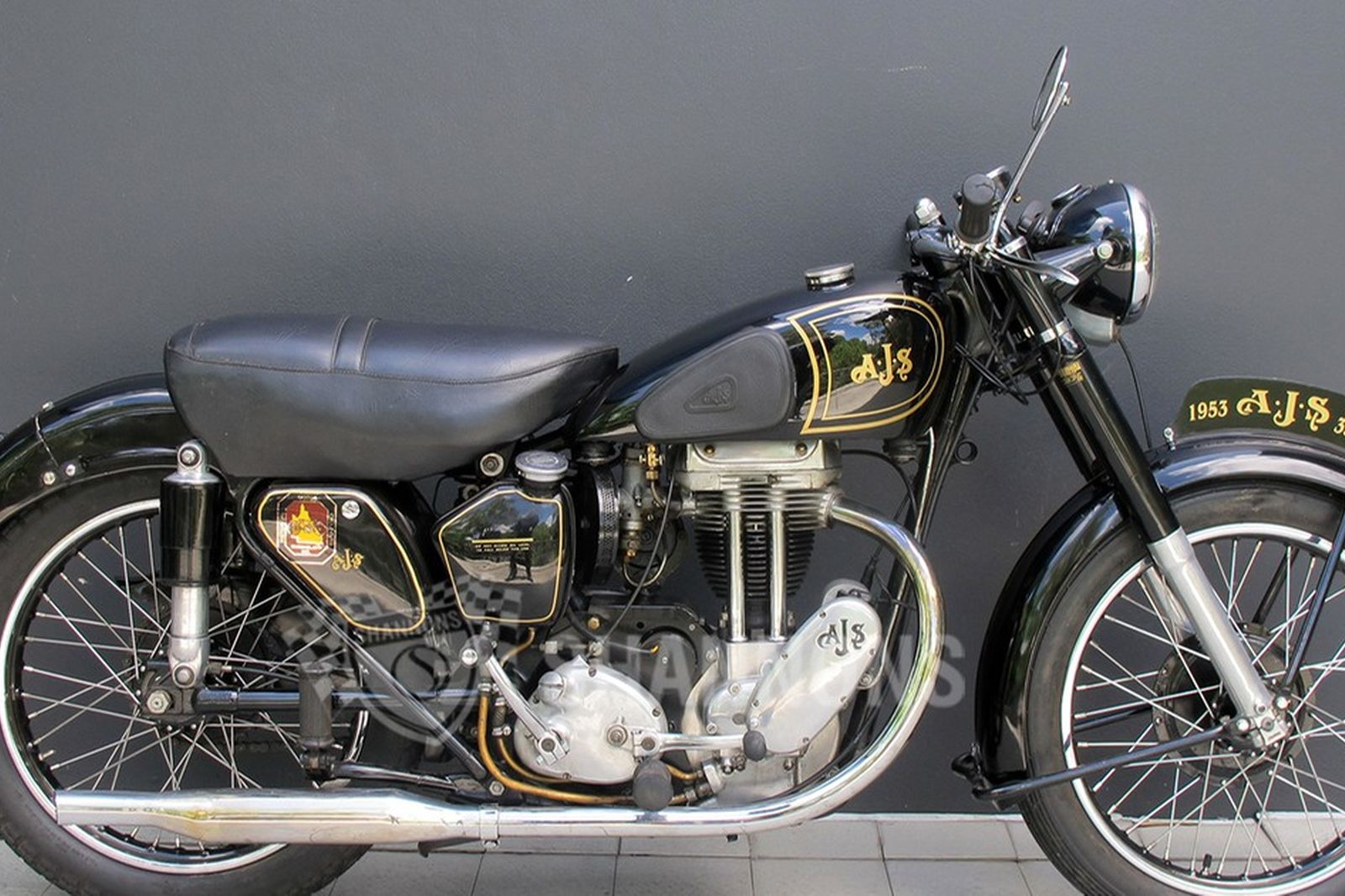 AJS 16MS 350cc Motorcycle
