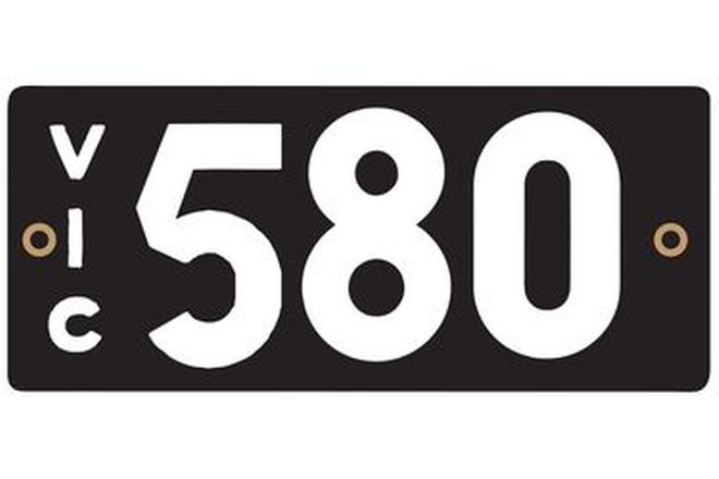 Victorian Heritage Plate '580'