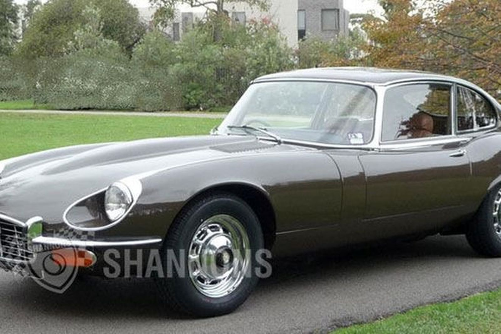 sold jaguar e type series iii v12 manual coupe auctions