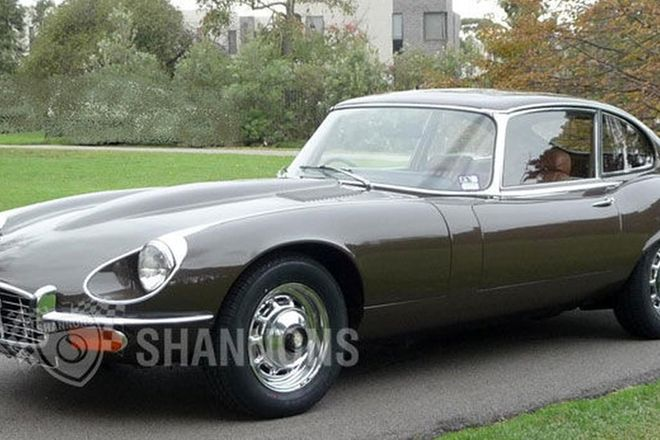 Jaguar E-Type Series III V12 'Manual' Coupe