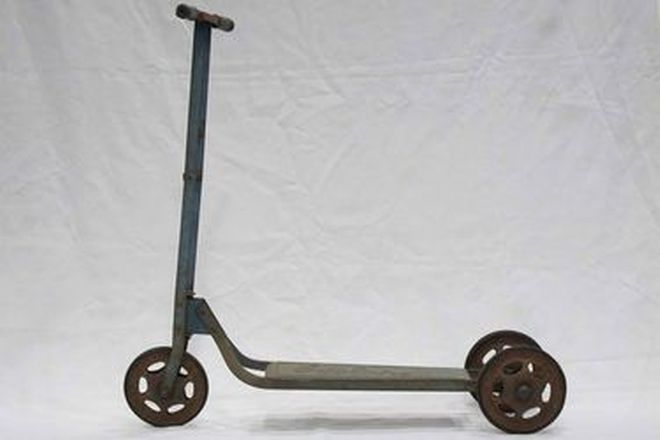 c1960'S Cyclops Childs 3-Wheel Scooter