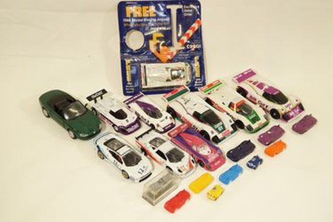Model Cars x 20 - Jaguar racing models by various manufacturers (various sizes)