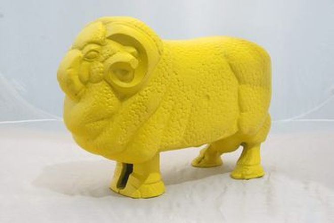 Golden Fleece Ram -  Cast Alloy Reproduction (56cm long)