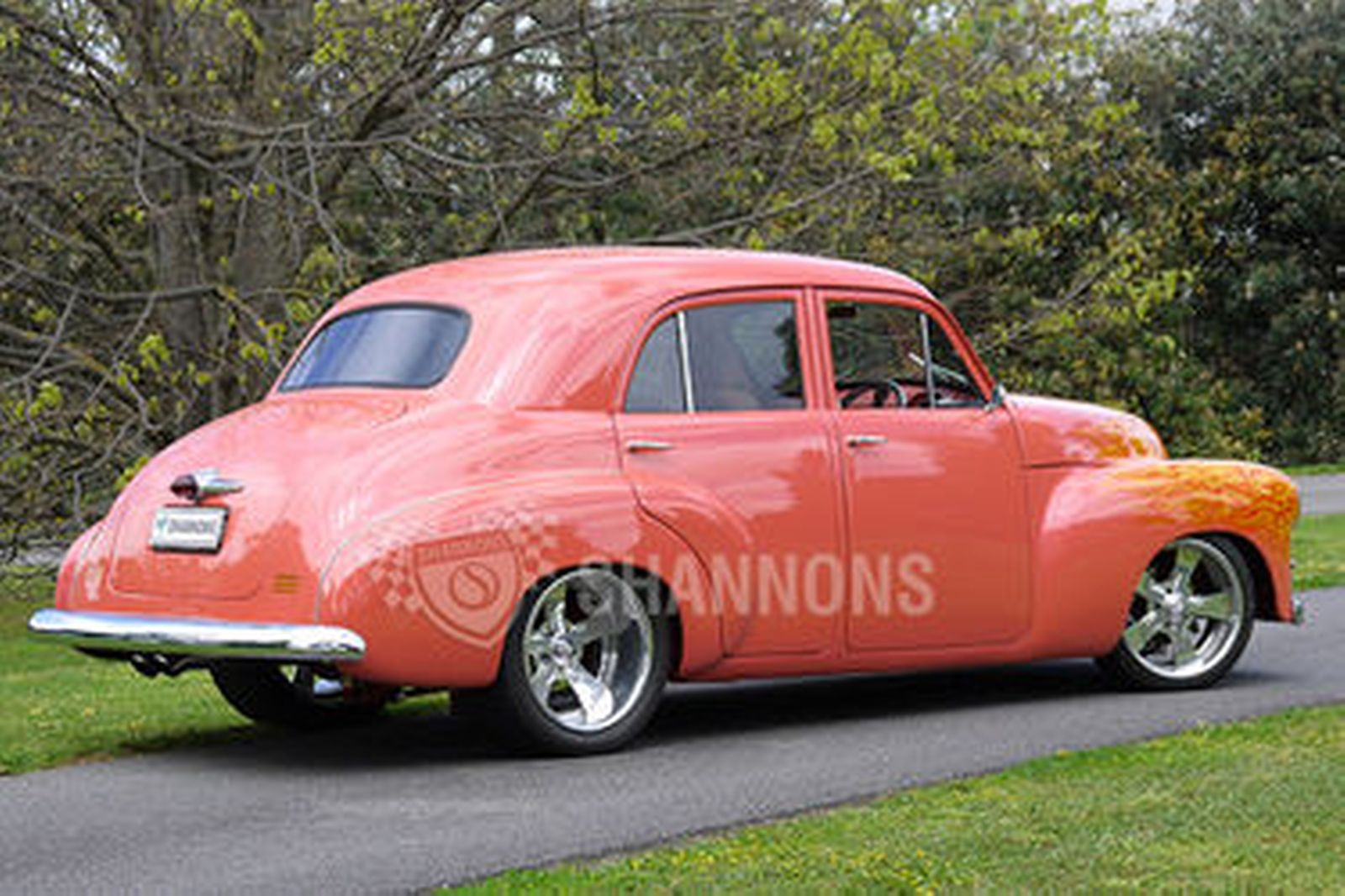 Holden Fj Modified Street Machine Sedan Auctions Lot