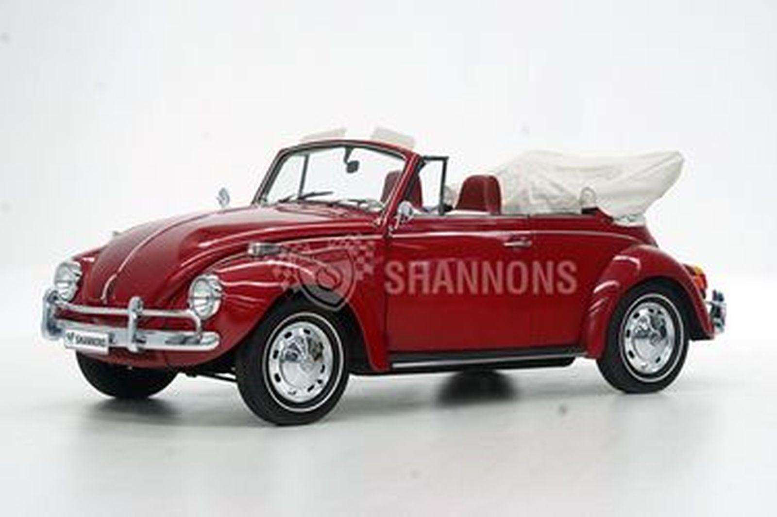 Volkswagen Beetle 1600 Twin Port 'Karmann' Cabriolet (LHD)