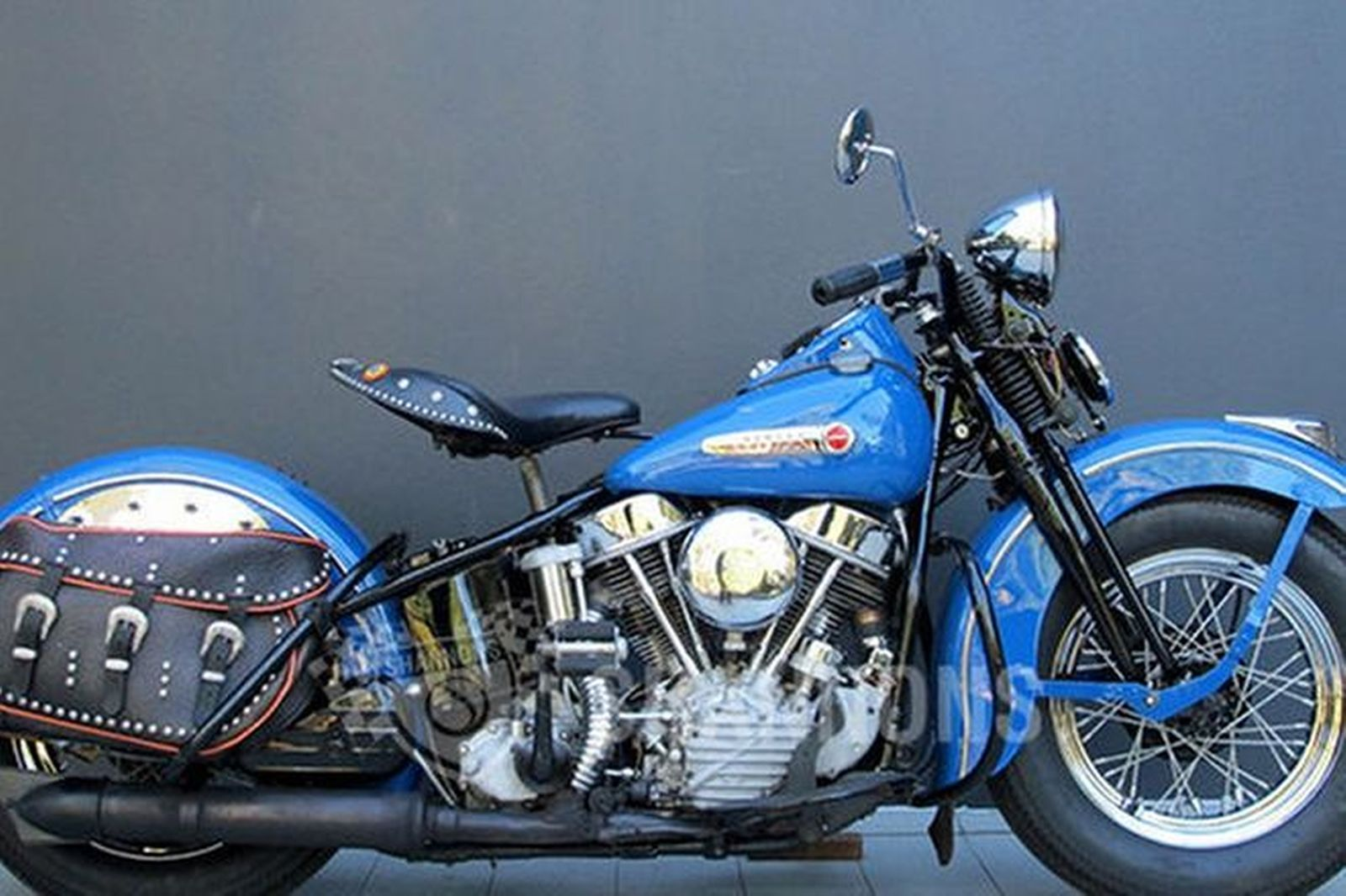 sold  harley-davidson fl panhead 1200cc motorcycle auctions - lot am
