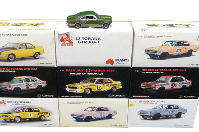 Model Cars - 10 x Holden Limited Edition Models