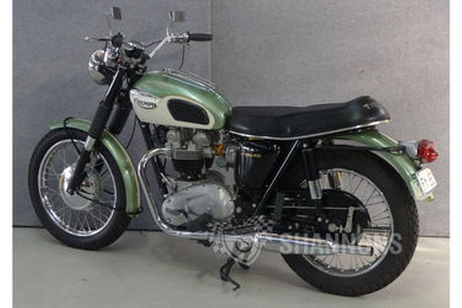 Triumph Tr6 Trophy 650cc Motorcycle Auctions Lot 37