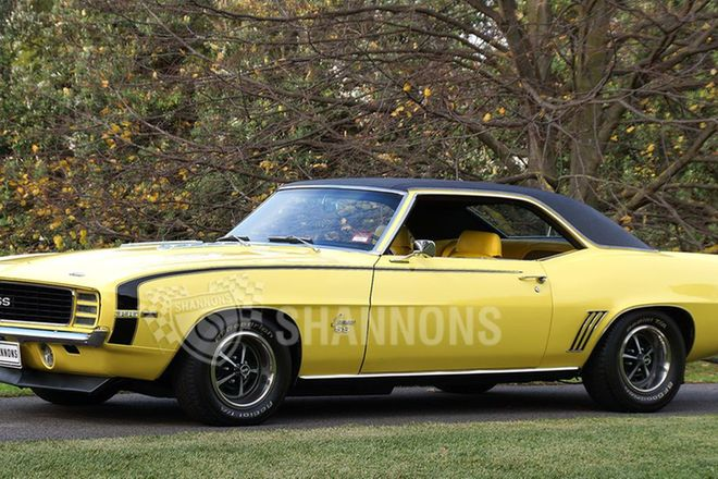 Chevrolet Camaro SS 396ci Coupe (LHD)