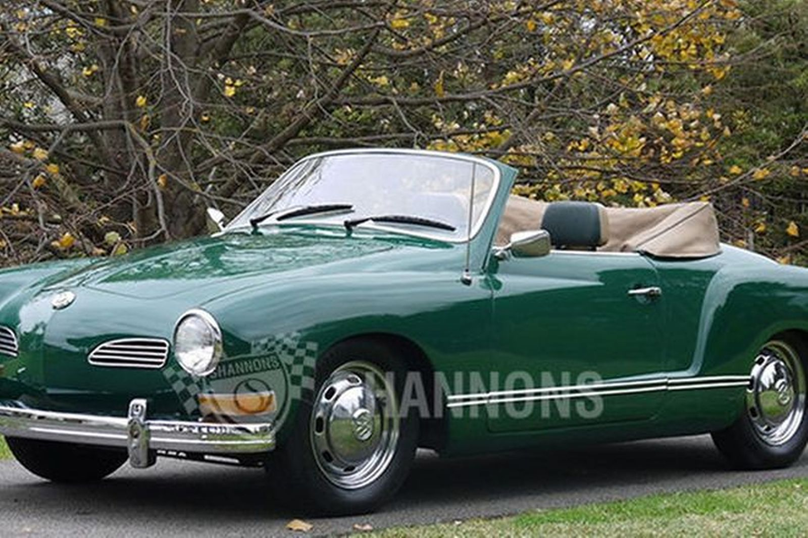 Sold Volkswagen Karmann Ghia Convertible Lhd Auctions Lot 9 Shannons