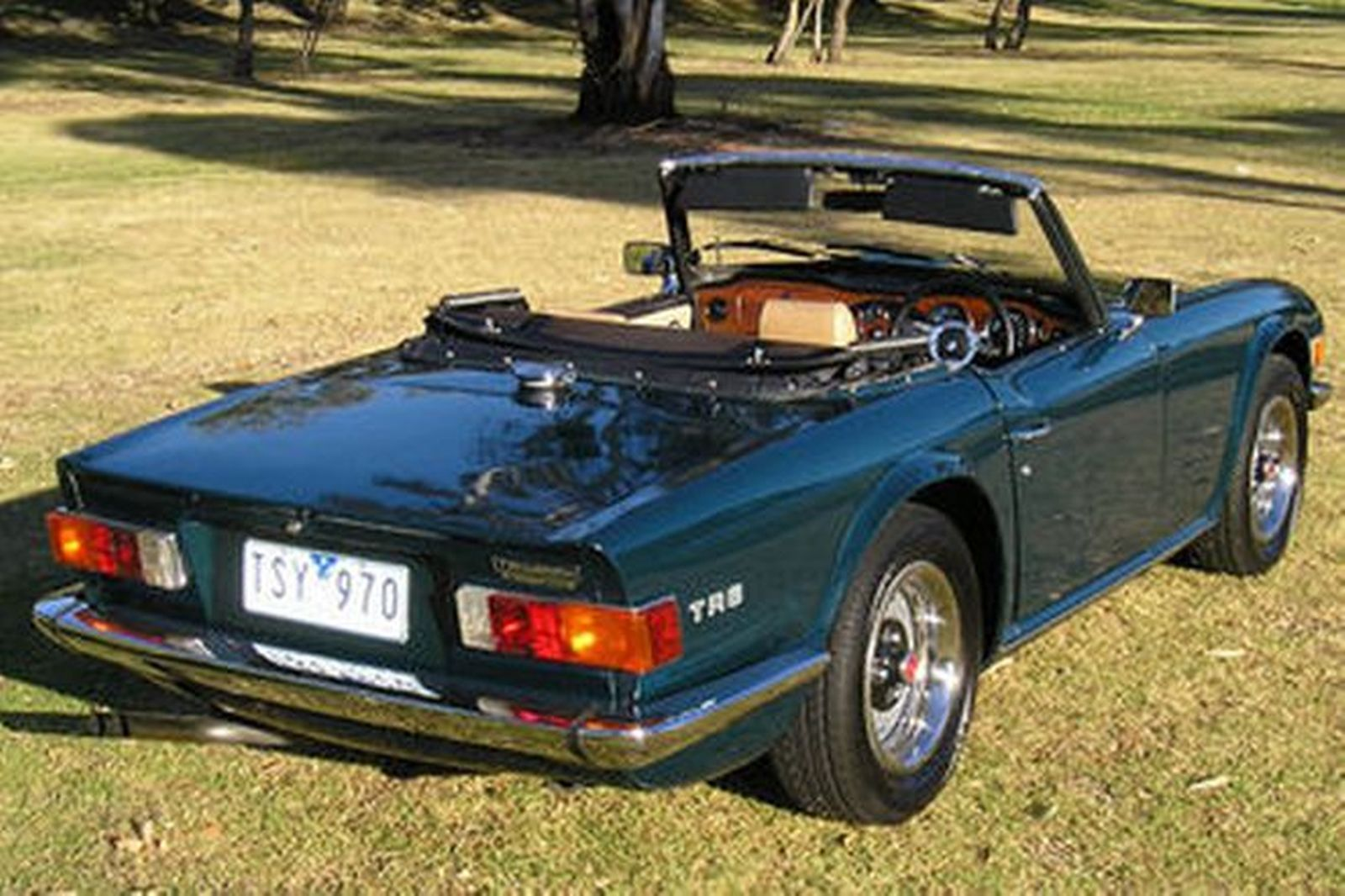 Car Auction Online >> Triumph TR6 Roadster Auctions - Lot 5 - Shannons