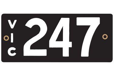 Victorian Heritage Plate '247'