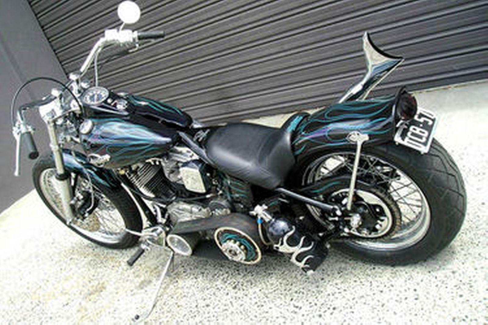 Harley-Davidson Panhead 'Custom' Motorcycle Auctions - Lot