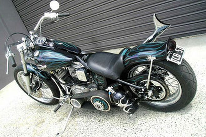 Harley-Davidson Panhead 'Custom' Motorcycle