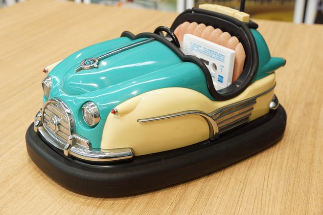 Dodgem Car AM-FM Cassette Radio