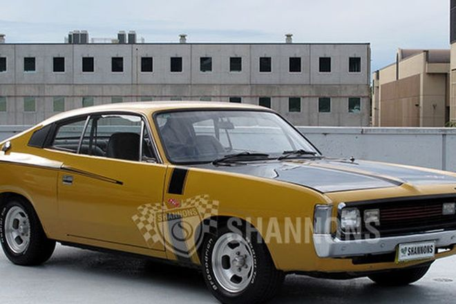 Chrysler VH Valiant E38 'Big Tank' Charger