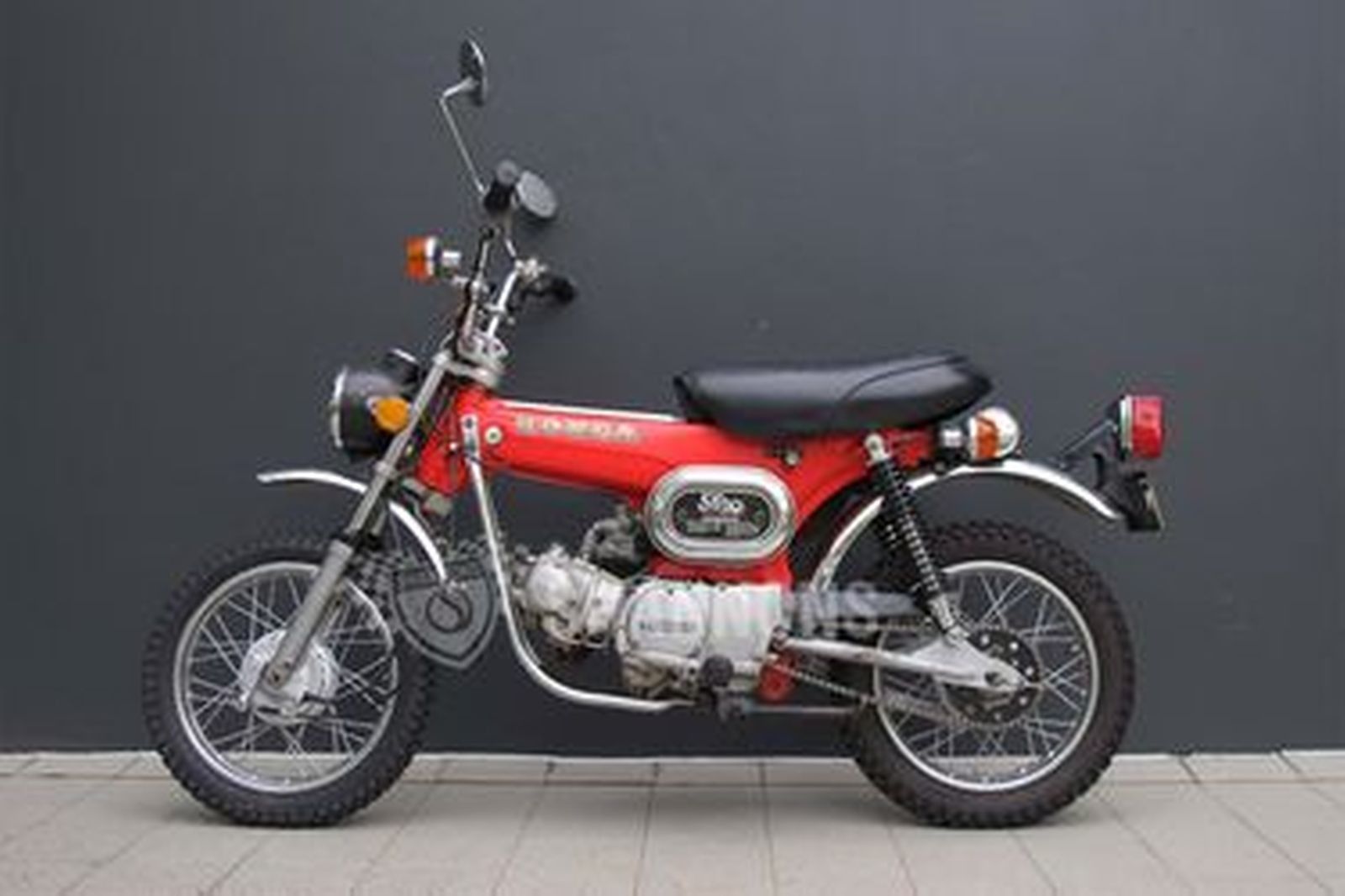 Honda ST90 Motorcycle
