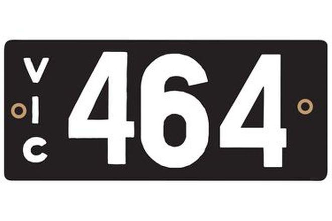 Victorian Heritage Plate '464'
