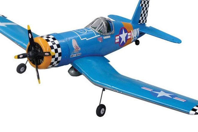 Model Plane - Vought Corsair (2m wingspan)