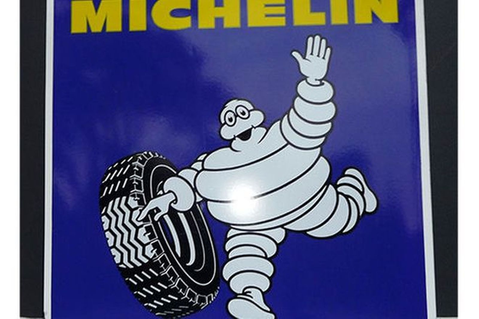 Enamel Sign - Michelin (95 x 95cm)