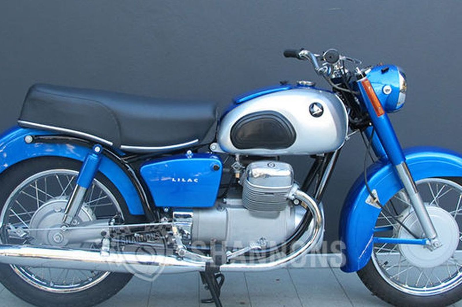 Sold marusho lilac 250cc motorcycle auctions lot v for Motor vehicle open on saturday