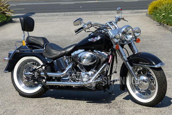 Harley-Davidson FLSTN Softail Deluxe Motorcycle