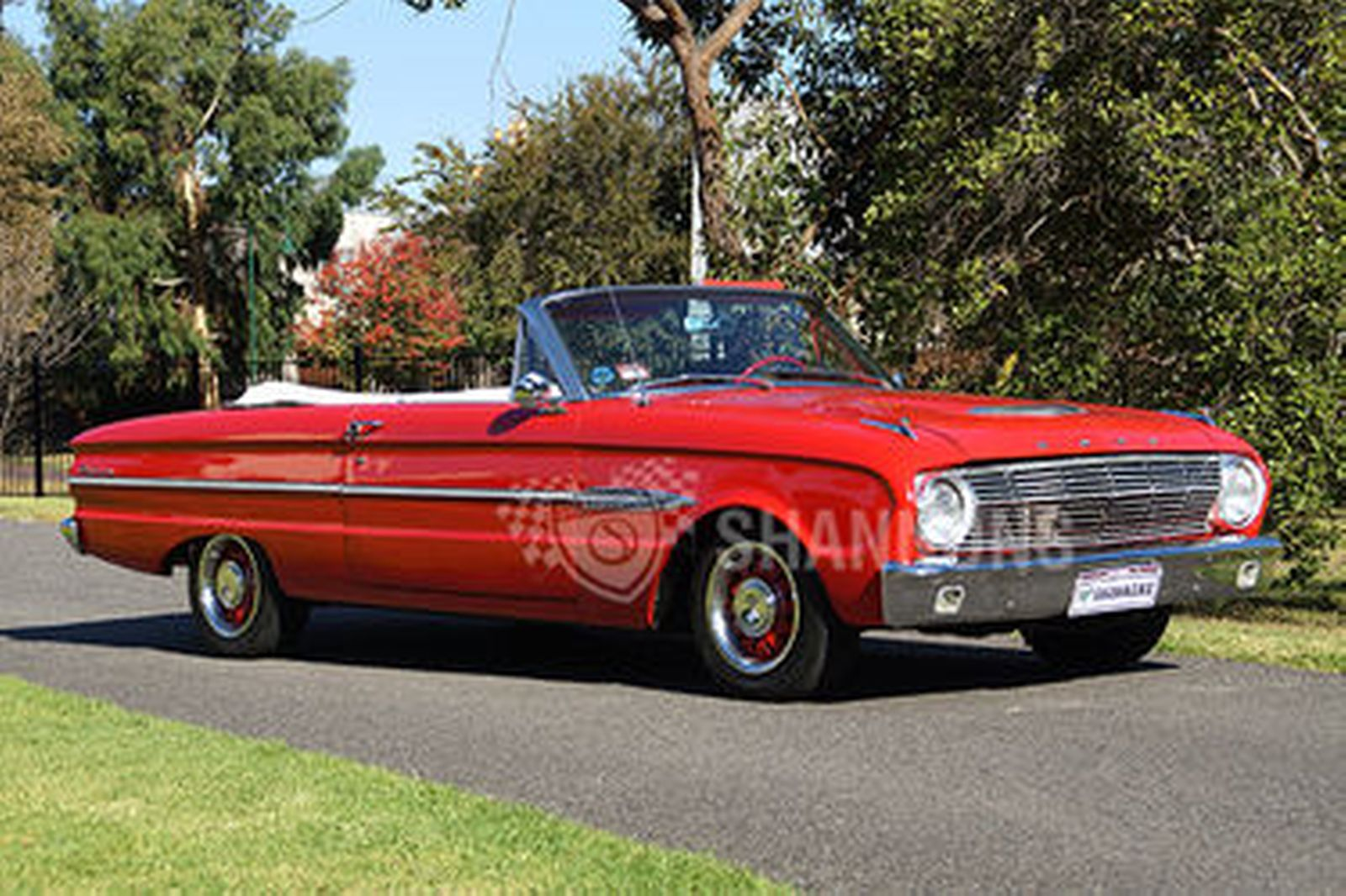 Ford Falcon Convertible Lhd on Ford 170 6 Cylinder Engine