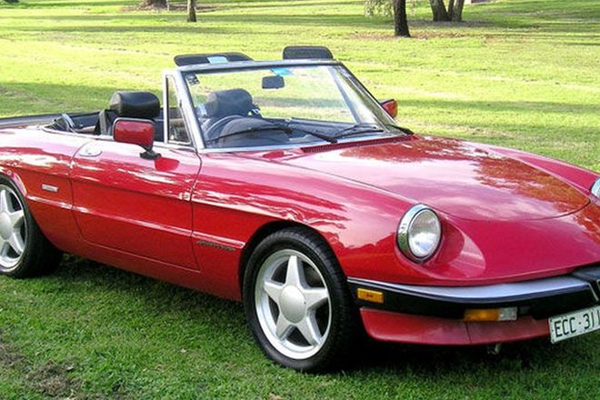 Sold Alfa Romeo Spider Auctions Lot Shannons - Alfa romeo spider graduate for sale