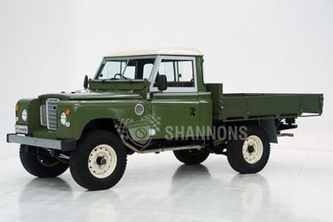 Land Rover Series 3 LWB Cab Chassis