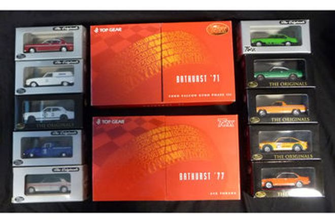 Model Cars - Trax Limited Edition Bathurst 1971 & 1977 + 10 Trax Cars - Ford/Holden (1:43 scale)