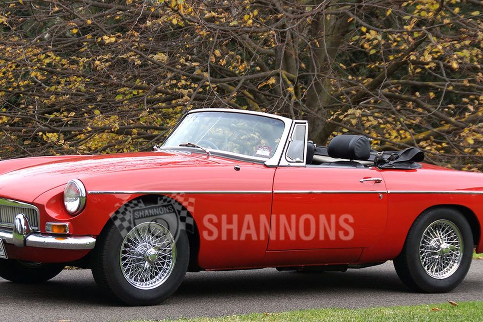 Sold Mgb Mk1 Roadster Auctions Lot 4 Shannons