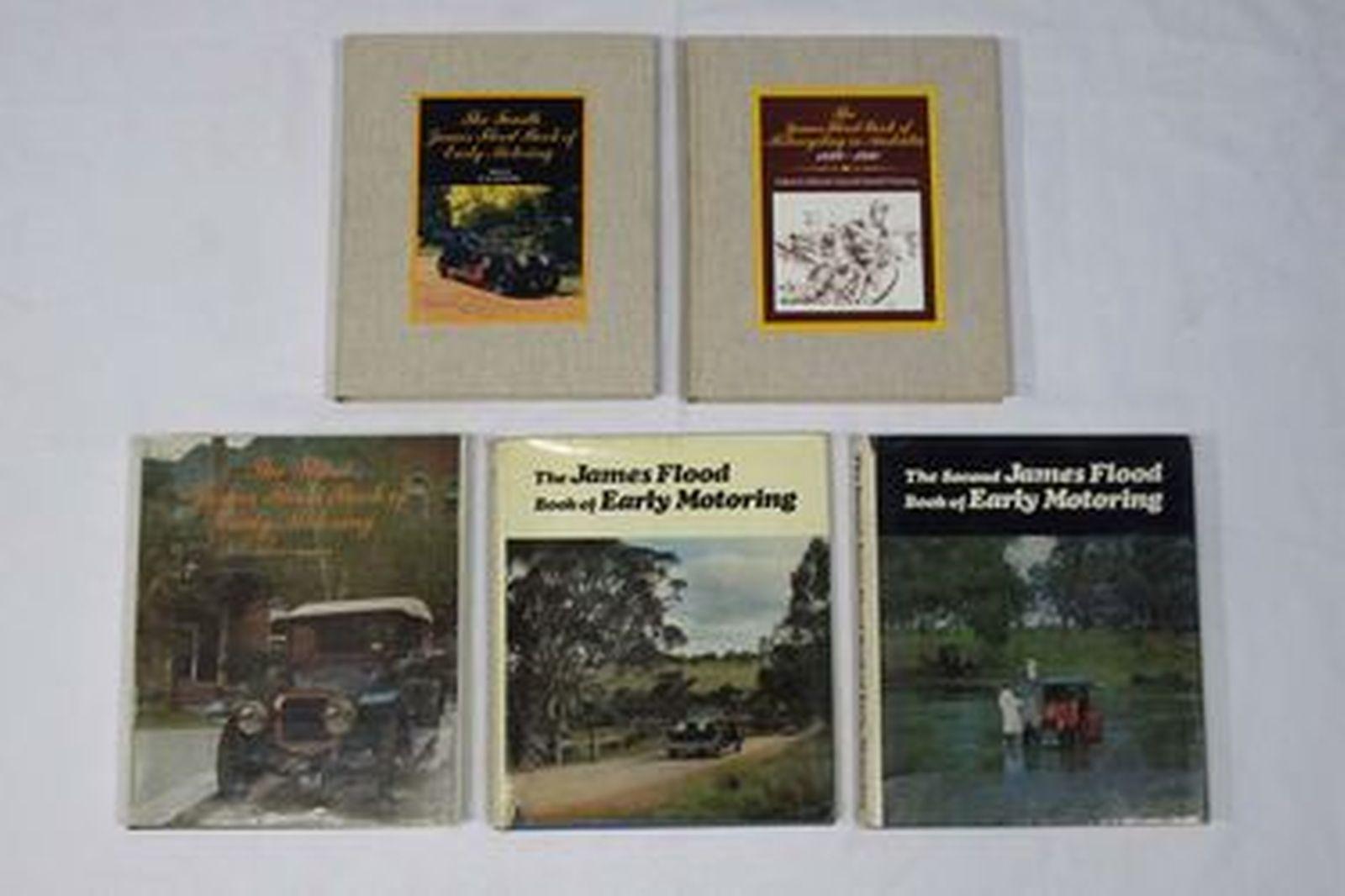 Motoring Books - Set of 5 James Flood Motoring Books