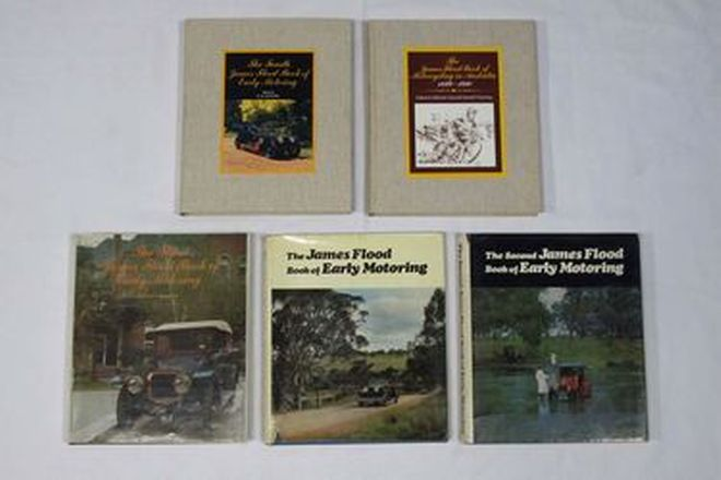 Motoring Books - Set of 5 James Flood Motoring Books