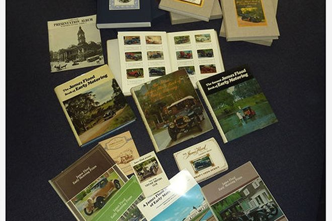 Books - Collection of James Flood Motoring