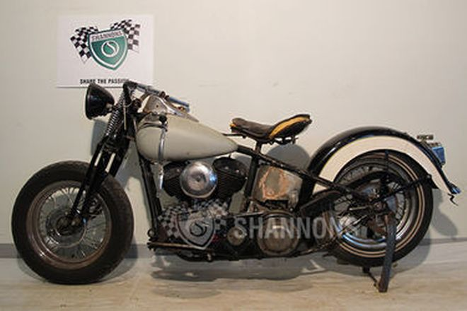 Harley-Davidson U Model 1200cc Motorcycle (Project)