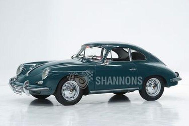 Porsche 356B Coupe (LHD)