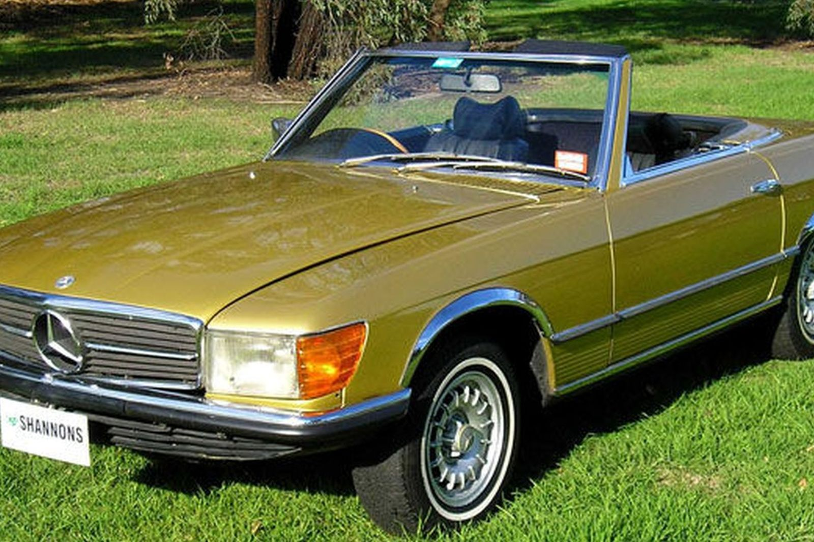 Sold mercedes benz 350sl convertible auctions lot 6 for 1972 mercedes benz