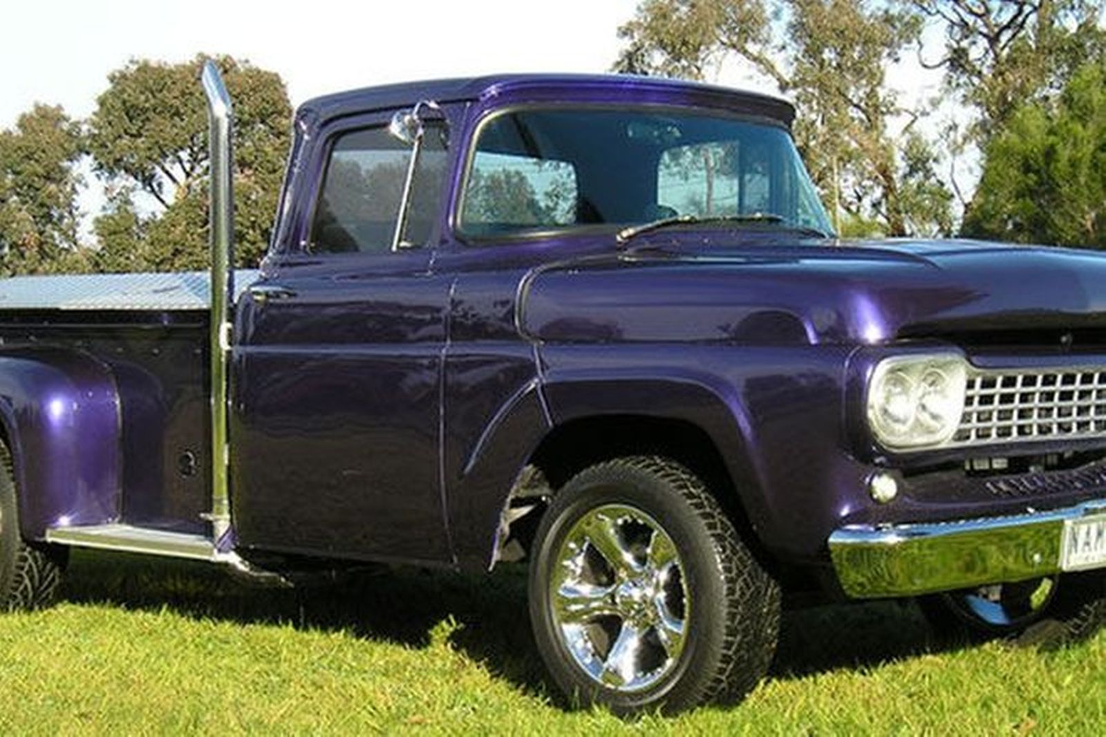 Sold Ford F100 Custom Step Side Utility Auctions Lot 12 Shannons 1955 Stepside Pickup