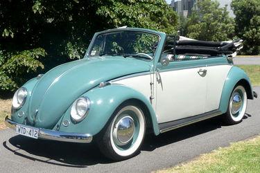 Volkswagen Beetle 'Karmann' Convertible (LHD)