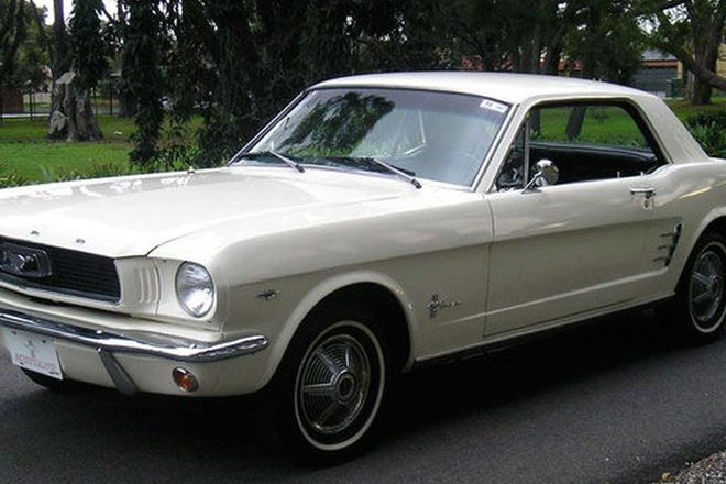 Ford Mustang 'A' Code Coupe (LHD)