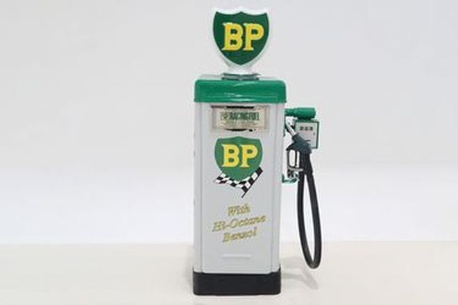 Petrol Pump - Wayne AS70 Industrial Bowser in BP High Octane Livery with Reproduction Globe